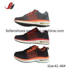 Sapatas respiráveis do esporte que caminham sapatas com calçado do coxim de ar