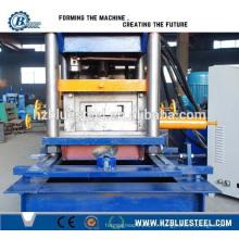CU Deux en une machine de formage de rouleau froid Purlin, CU Machine à formater des rouleaux à lèvres rapidement modifiable