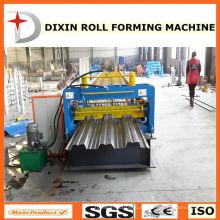 Dx 980 Venta caliente Zinc Panel de piso Prensado Equipo