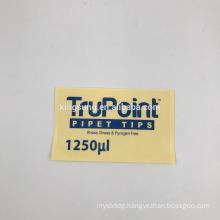Custom die cut vinyl clear window decals sticker