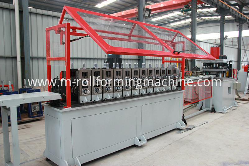 Metal steel u purlin making machine