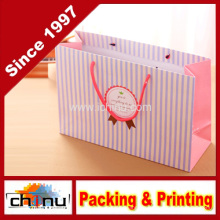 Papier Geschenk Tasche / Kunst Papiertüte / White Paper Bag (210133)