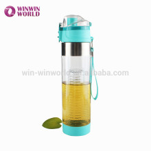 New Arrivel BPA Free Plastic Drinking Water Bottle With Infuser