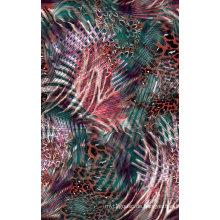 Digital Print Nylon Stoff für Badeanzug (ASQ087)