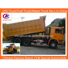 Shacman F3000 6X4 Front Tipping Camião Basculante 15cbm Camião Basculante 20cbm