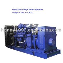 Generador diesel de alta tensión (HV) 6300V-11000V