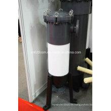 Carcasa de filtro de bolsa de PVC para equipos de tratamiento de agua