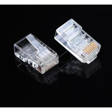 RJ45 El enchufe Cat 5E doble
