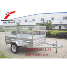 Galvanizado en caliente trailer jaula