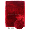 Tapis Shaggy en polyester mince