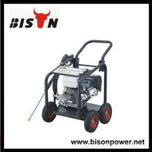BISON China Lavado de coches portátil de alta presión para exportación Precio bueno con ruedas
