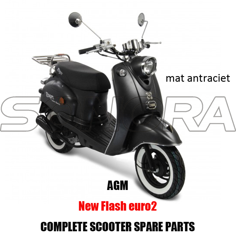 AGM New Flash-mat antraciet