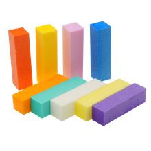 Good quality top seller 4 side sanding block sponge nail file
