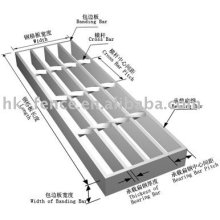anti skid mats/metal floor/walkway grid/grating
