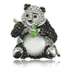 Moda 2016 Estilo Nueva llegada Lovely Panda Brooch