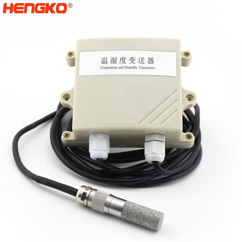 RHT high temperature & air humidity sensor with waterproof sensor housing for agricultural