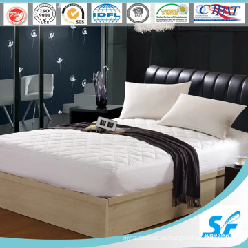 Protetor do colchão da alta qualidade do hotel por atacado da fábrica de Hangzhou