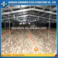 Alibaba confiait à la ferme de volaille automatique préfabriquée en poulet Poulet Poulet