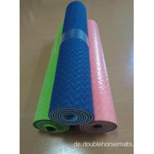 TPE-Material doppelte Farbe Yogamatte