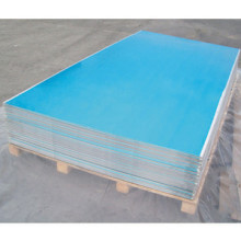 1050, 1100, 3003, 5052, 6063, 6061 Aluminiumblech mit PVC-Folie beschichtet
