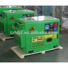 Groupe électrogène portatif de générateur diesel 5KW avec le début électrique