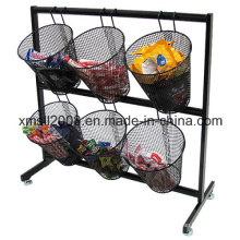 Mesh Basket Counter Display Wire Rack