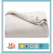 100 cotton hospital waffle thermal blanket