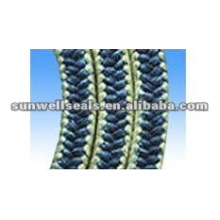 Outlet Center: Good Quality Graphite PTFE Packing with Aramid Fiber Corners