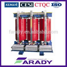 0.4kv 300kva distribution en fonte résine transformateur de puissance sec Fabricant de SCB10