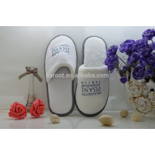 white cheap soft personalized high quality hotel slipper