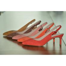 Zapatos de boda de tacón alto puntiagudos para mujer