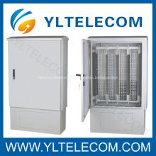 Gabinete de distribución al aire libre con soporte de 1200-2400 pares