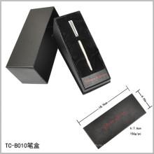 Бархатная внутренняя открывающаяся коробка в форме треугольника, набор ручек для наклона, бумажная коробка