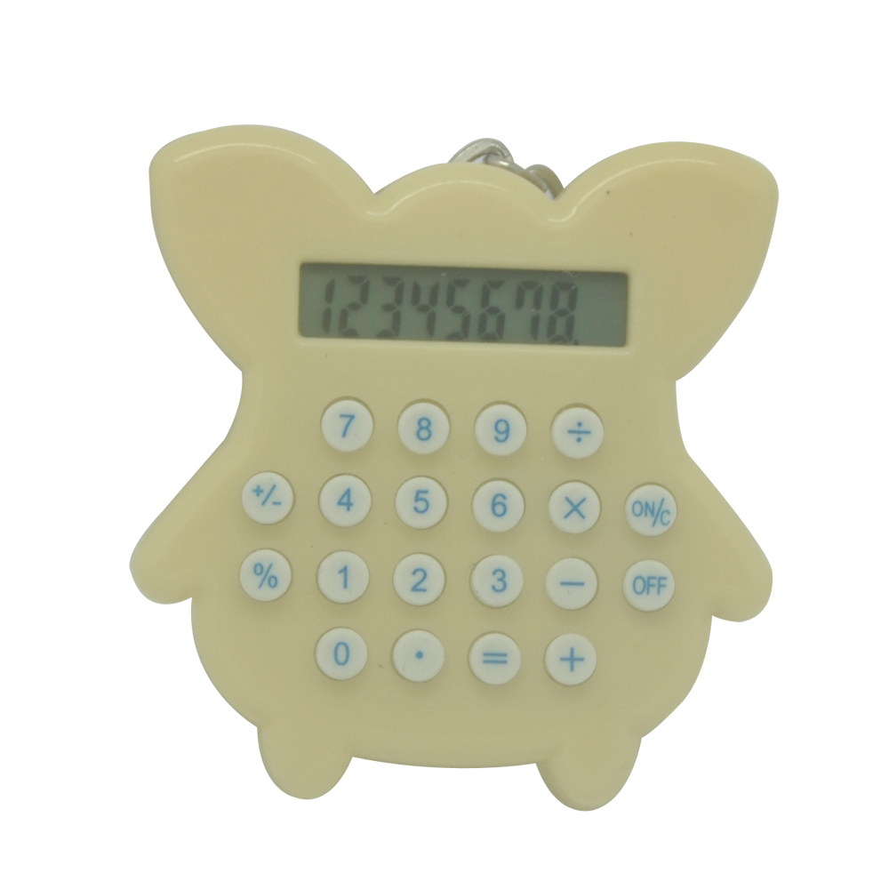 Cute Mini Keychain Calculatrice pour enfants
