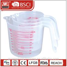 Measuring cup set 0.25/0.5/1L