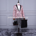 2017 Formal Men Suits Evening Tuxedos Dress Long Sleeves Prom Gowns New Styles Korea Pattern