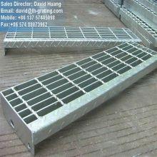 Galvanisierte elektrogeschmiedete Trittstufen aus Stahlgitter