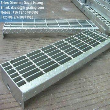 Gi-beschichtete Treppen aus Stahlgitter