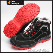 PU/TPU Outsole Suede Leather Safety Shoe with Composite Toe (SN5433)