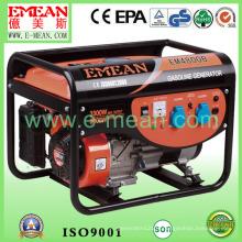 Générateur d'essence de démarrage électrique triphasé de 3kw