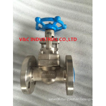 API Stainless Steel Flange Contaction Gate Valve