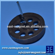 Mehrfachpolen Motorrotor Hersteller / TDK-FBSH Zertifikat Magnetische Eigenschaften des anisotropen Ferritmagneten radial multipolar