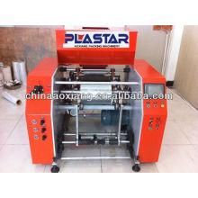 Rembobineur de film plastique entièrement automatique et lingettes humides conversion automatique et semi-automatique