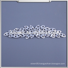 Applique Work Designs For Dresses / Wholesale Sew On Bling Wedding Bridal Rhinestone Applique