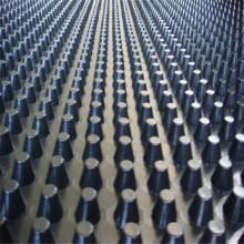 Tablero de drenaje de HDPE de altura de hoyuelo para proyecto de movimiento de tierras