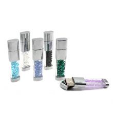 Brillo Lipstick Crystal USB con Multicolors 2GB, 4GB, 8GB