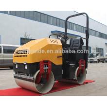 Rodillo vibratorio de 3 toneladas Compactadores compactadores de rodillos vibratorios Honda gx630 (FYL-900)