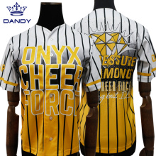 Jersi Besbol Crystal Cheerleaders