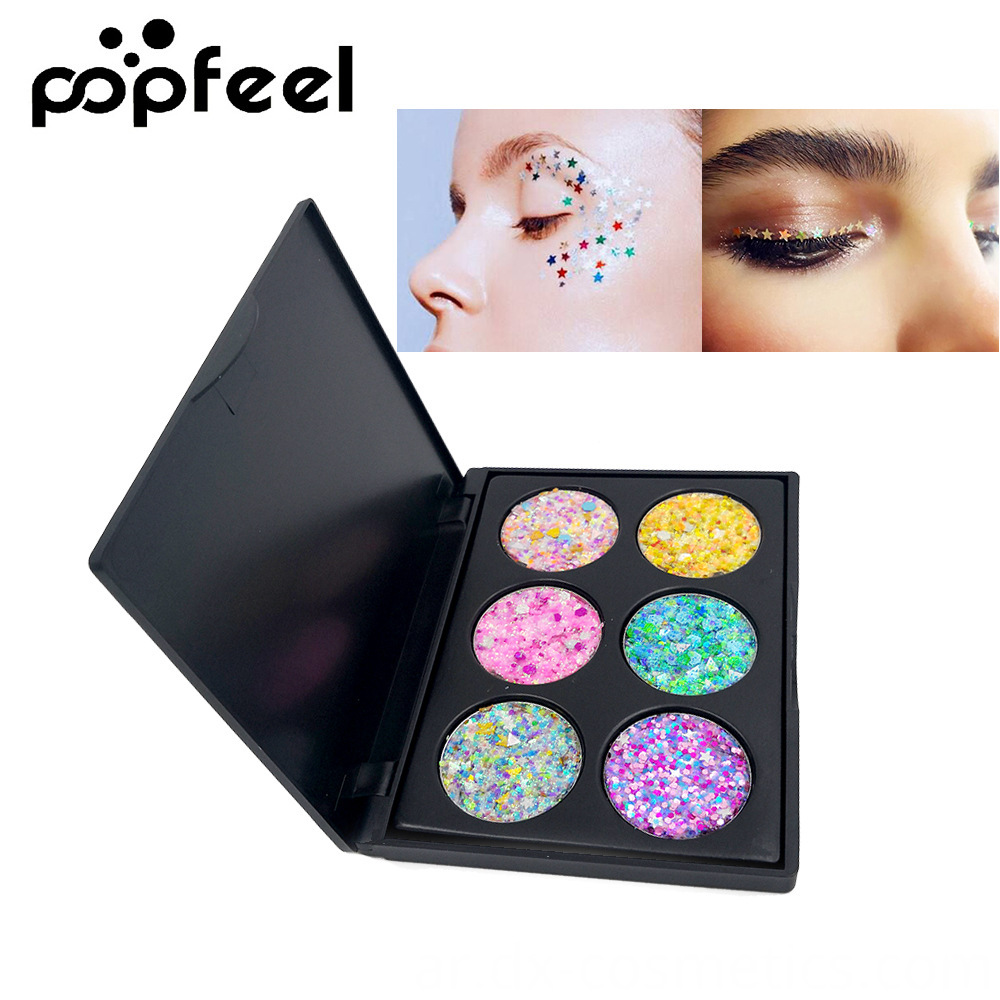6 Colors Gligger Eye Shadow 10