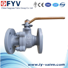 Lever Stainless Steel Flanged Fire Safe Ball Valve
